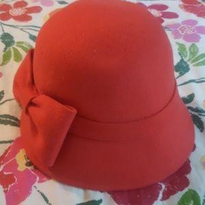 Nwot Kate Spade orange hat